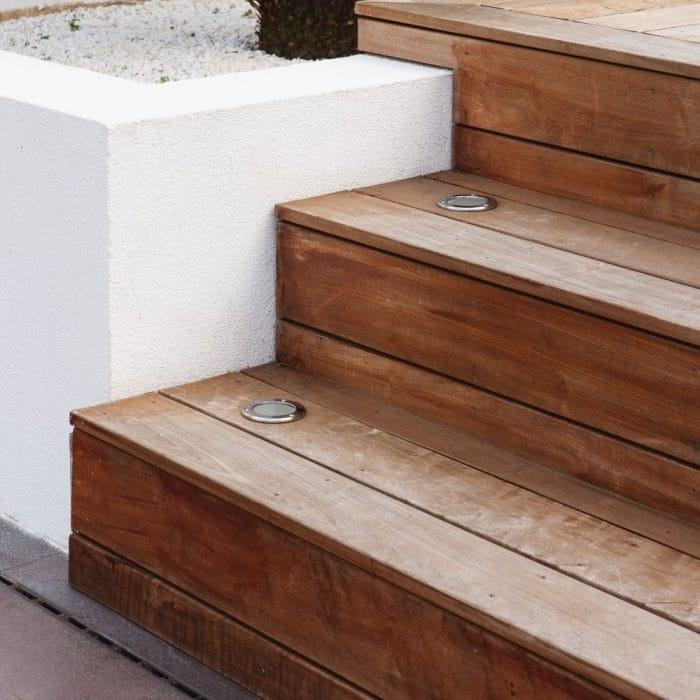 stair ground lights