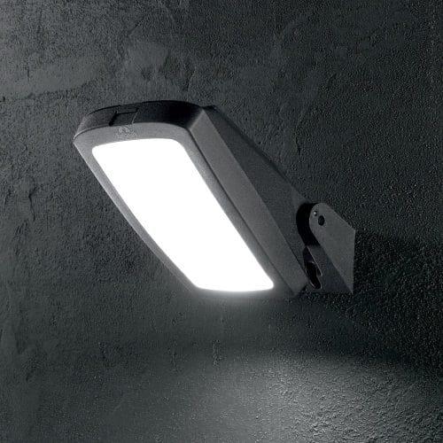 FUMAGALLI Germana Coastal Adjustable IP66 GX53 20w 4K Wall Light in Black
