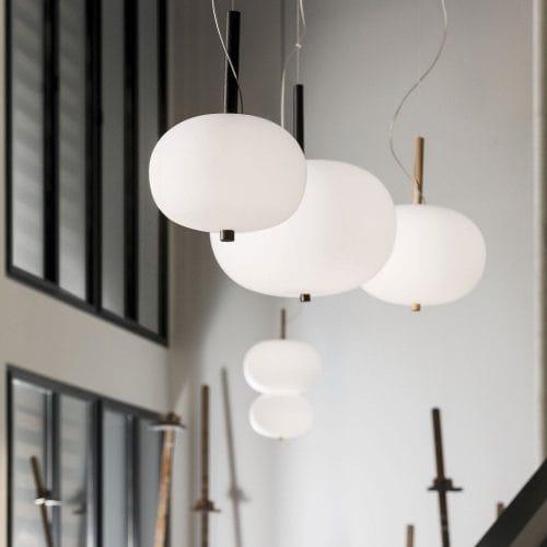 Grok White Pendant Light