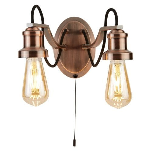 Searchlight Copper Wall Fitting
