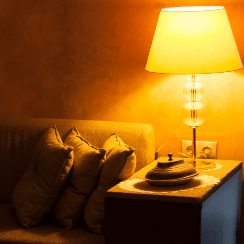 Bedside lampshade