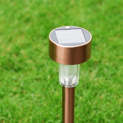 Outdoor solar powered lights