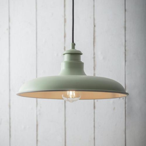 Green pendant light