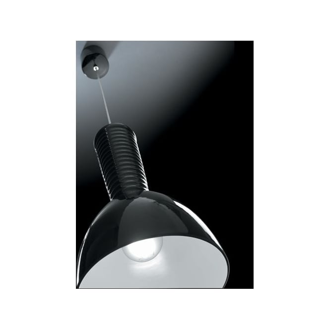 Alma **EX-DISPLAY** Kone Single Black Pendant