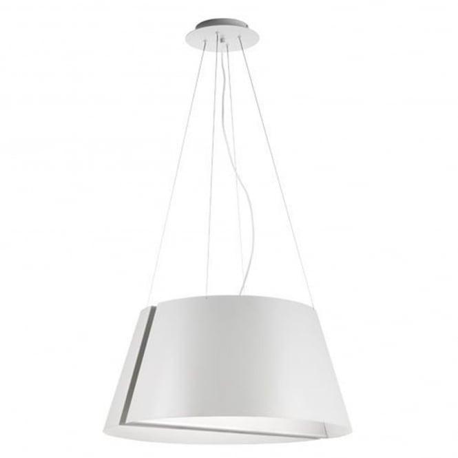 Alma Madame Small Double White Pendant