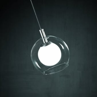 Minimalist Glass Ball Pendant