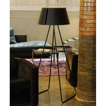 Oriol Llahona Madame Big Double Black Floor Lamp