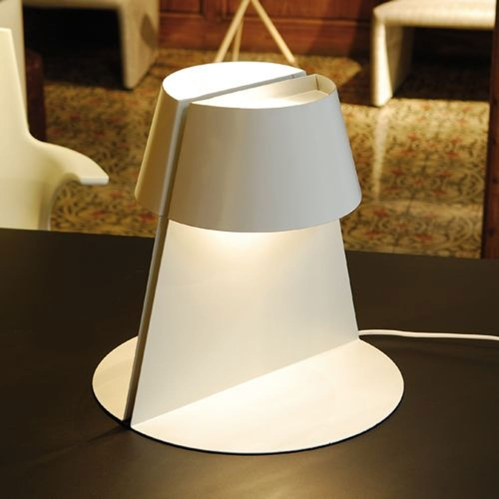 Alma Oriol Llahona Madame Big Double White Table Lamp