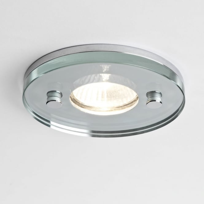 Astro 230v Ice Round IP65 Shower Downlight