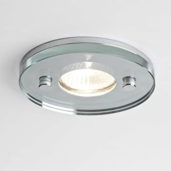 230v Ice Round IP65 Shower Downlight