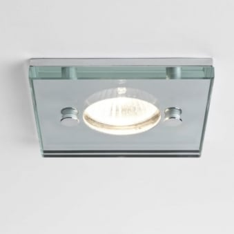 230v Ice Square IP65 Shower Downlight