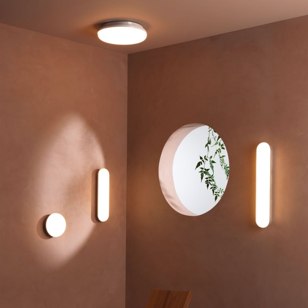 Astro Lighting 8047 Altea 300 LED IP44 Chrome Bathroom Ceiling Light