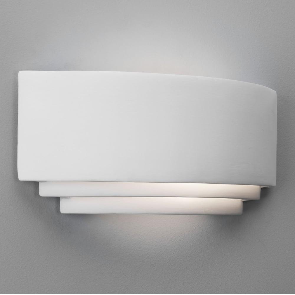 astro lighting 0423 amalfi art deco 315 ceramic wall light