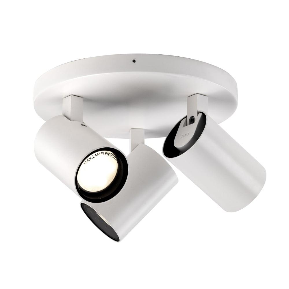 Astro Lighting 6153 Aqua Triple Gu10 Adjustable Spotlight