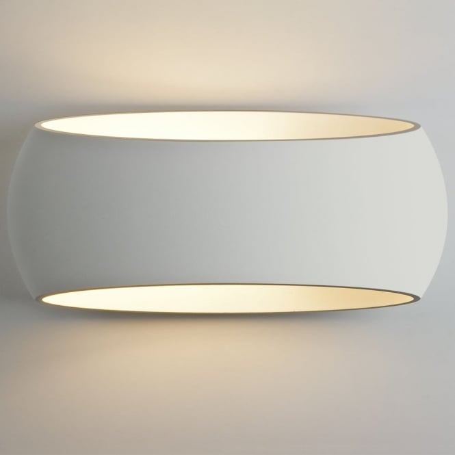 Astro Aria 370 White Plaster Wall Light