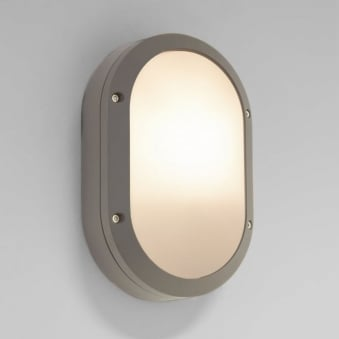 Arta Oval Exterior Light in Silver