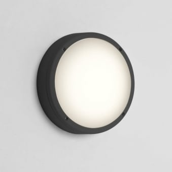 Arta Round 275 Exterior Light in Black