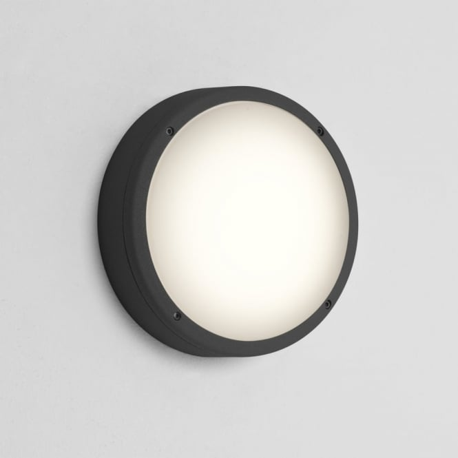 Astro Arta Round 275 IP54 Exterior Light in Black