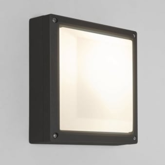 Arta Square 210 Exterior Light in Black