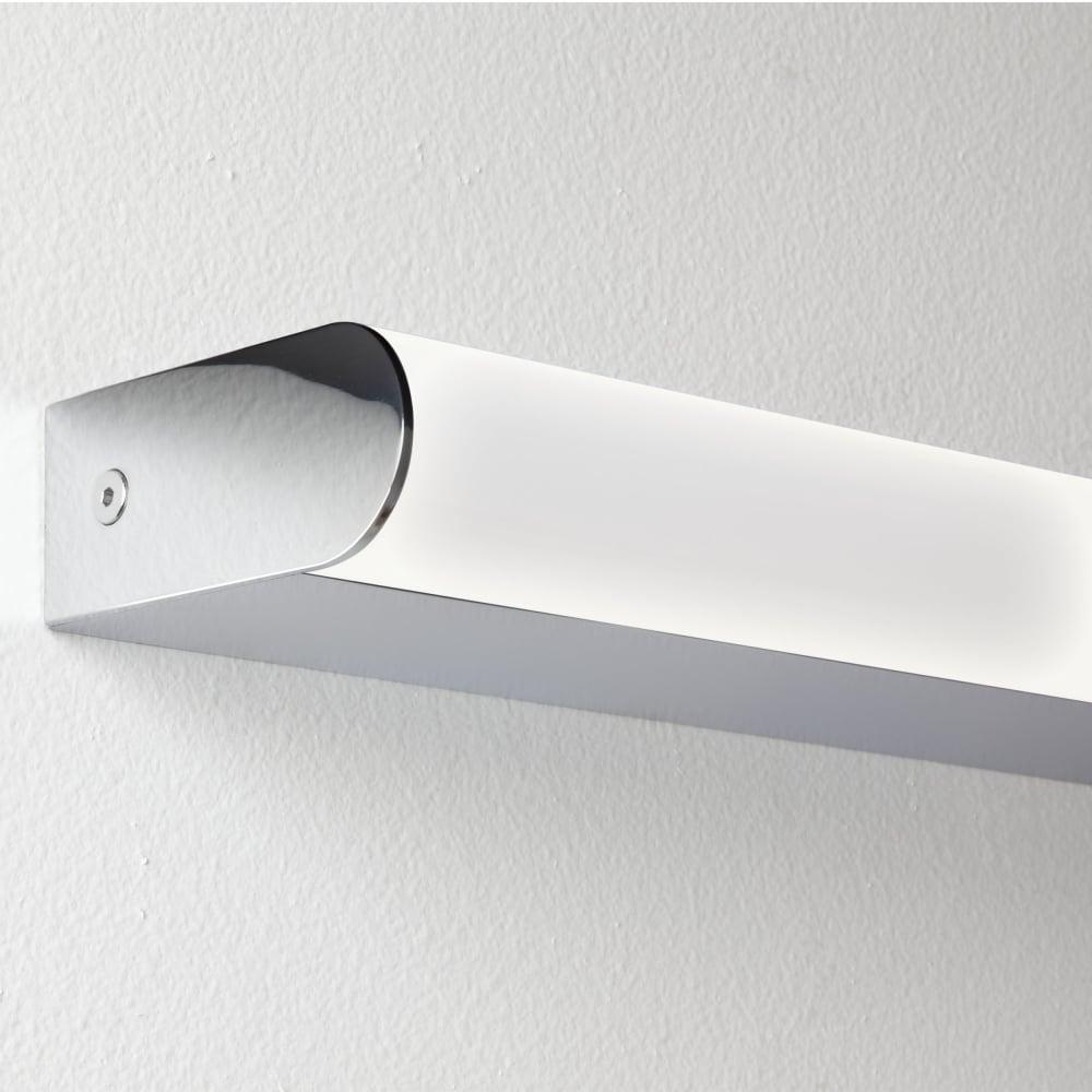 Bathroom lights bathroom wall lights artemis 900 rounded led strip - Astro Artemis 900 Led Bathroom Wall Light Fitting Type From Dusk