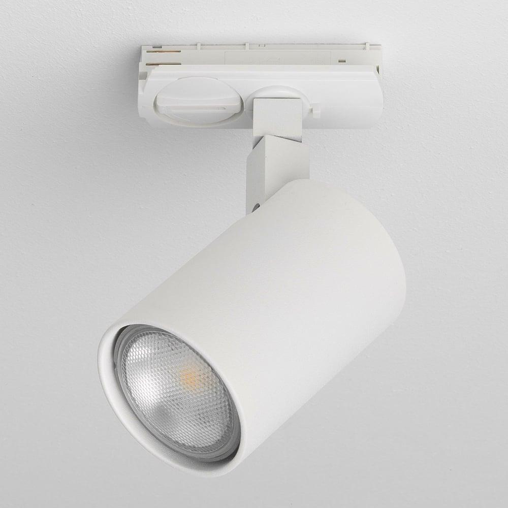 white track lighting. Ascoli GU10 Textured White Track Spotlight Lighting