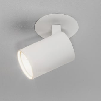 Ascoli Recessed Spotlight in White