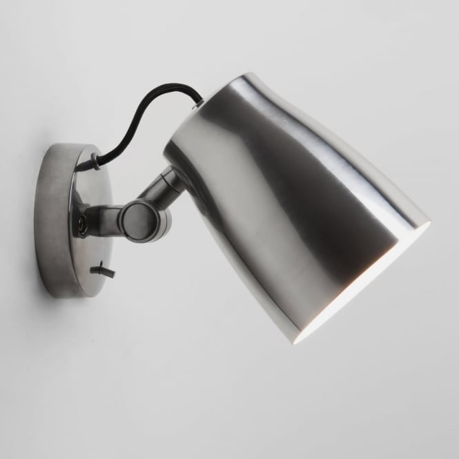 Astro Atelier Adjustable Wall Light in Polished Aluminium