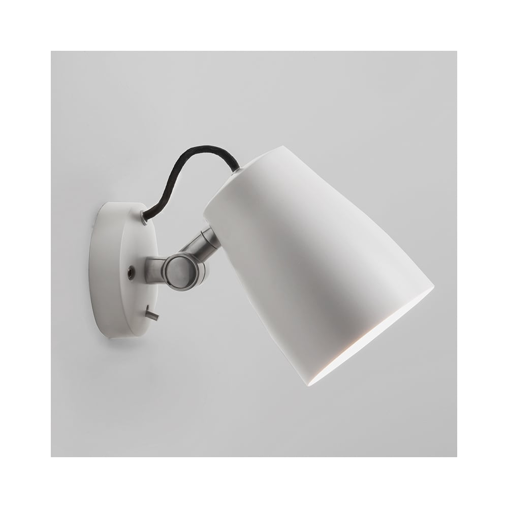 Astro lighting 7501 atelier adjustable wall light in white atelier adjustable wall light in white mozeypictures Images