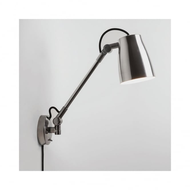 Astro Atelier Grande Wall Light in Polished Aluminium