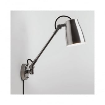 Atelier Grande Wall Light in Polished Aluminium
