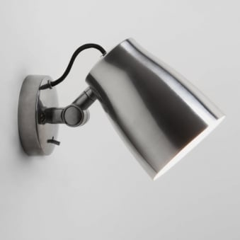Atelier Wall Light in Polished Aluminium