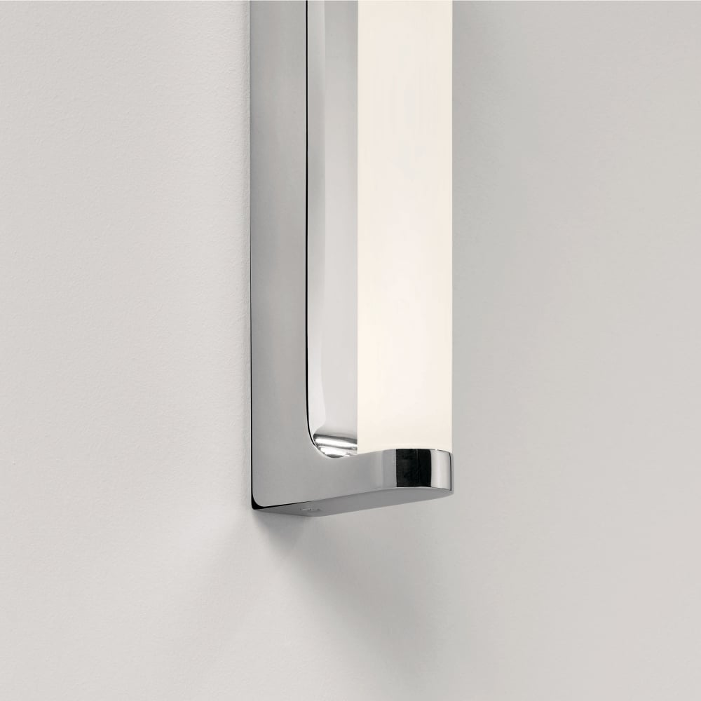 Retrouvius Wall Lights : Astro Lighting 0962 Avola LED IP44 Chrome Bathroom Wall Light