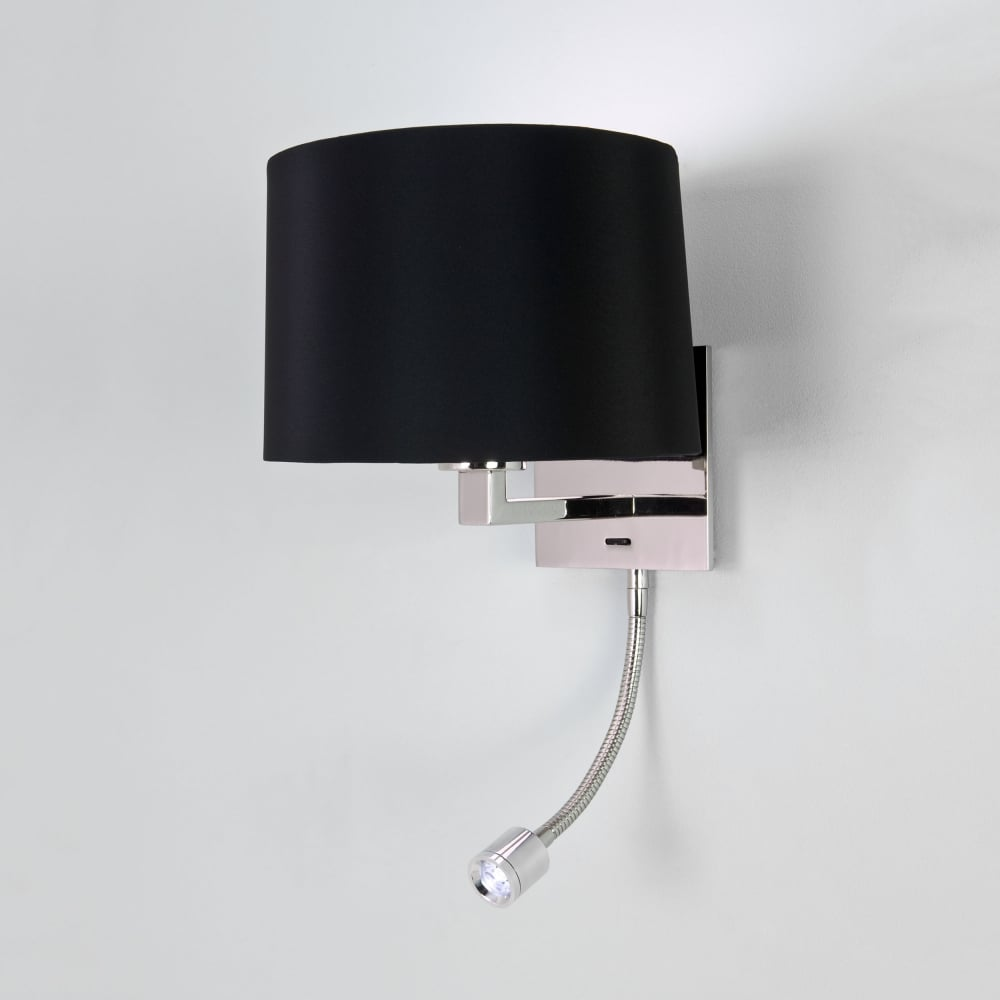 Astro 0789 azumi led classic switched wall light polished nickel azumi led classic switched wall light in polished nickel audiocablefo