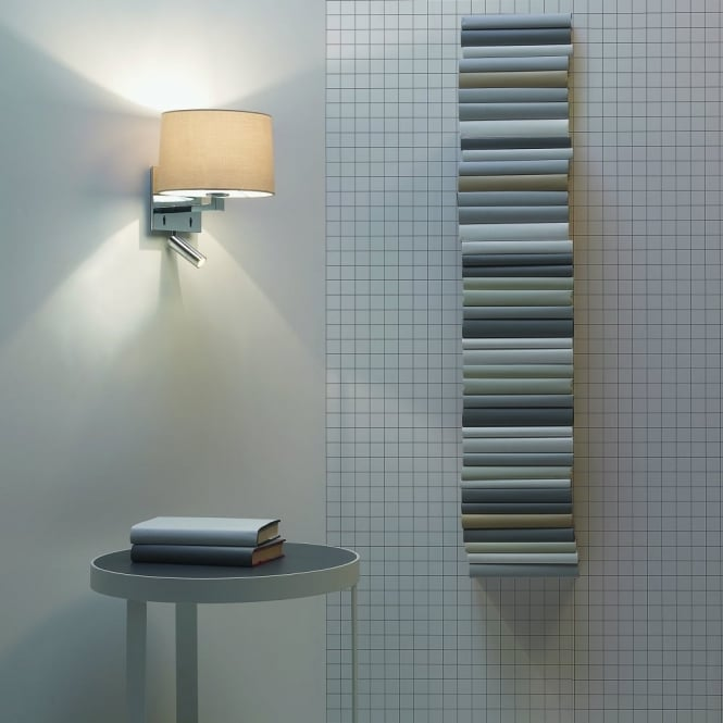Astro Azumi LED Reader Wall Light in Chrome