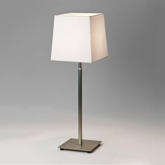 Azumi Table Lamp in Matt Nickel