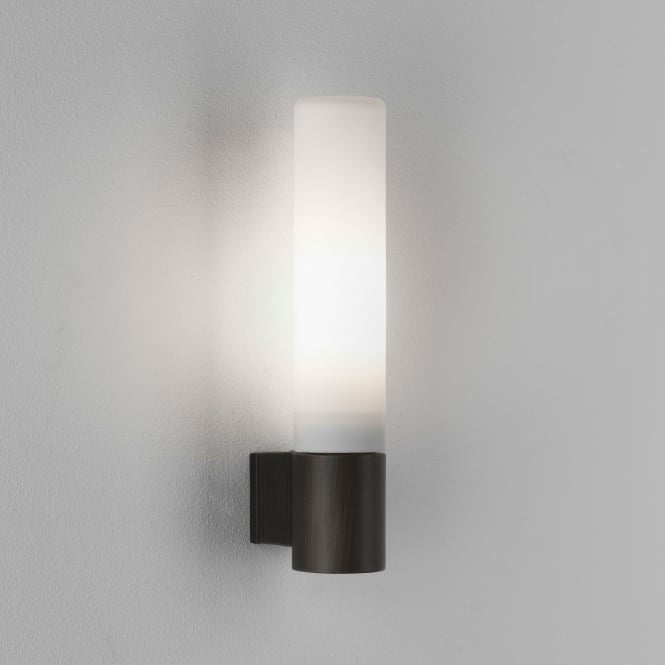 Astro Bari IP44 Bathroom Wall Light in Bronze