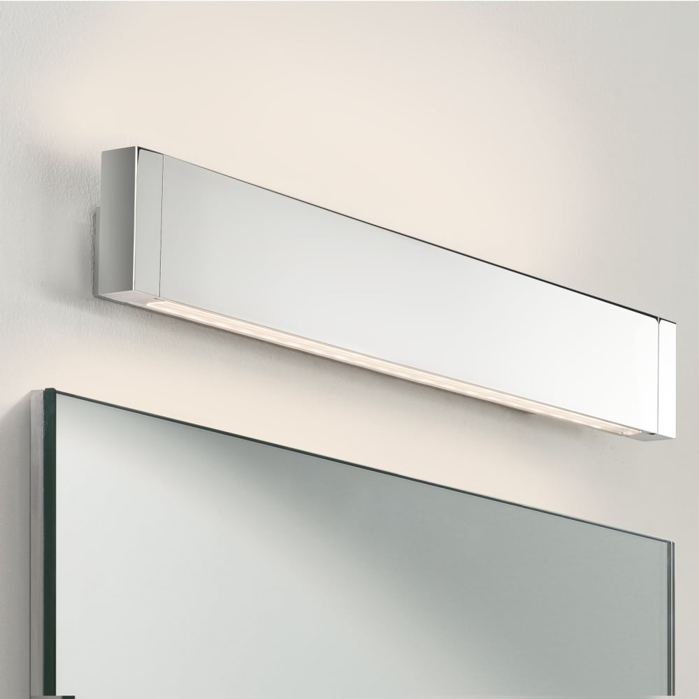 Led Bathroom Wall Lights Uk: Astro Lighting 0893 Bergamo 600 LED IP44 Bathroom Wall Light