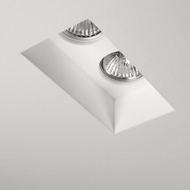 Astro Blanco Twin Recessed Interior Downlight