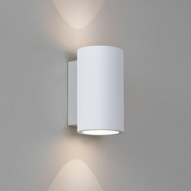 Led Wall Lights Plaster: Astro Lighting 7001 Bologna 160 LED White Round Plaster