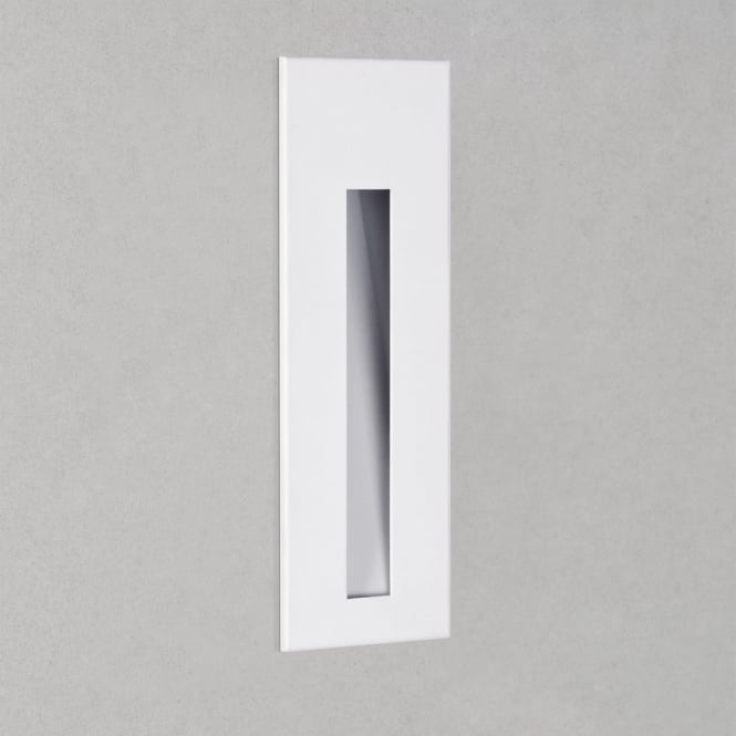 Astro Borgo 43 LED 3000K White IP65 Recessed Wall Light