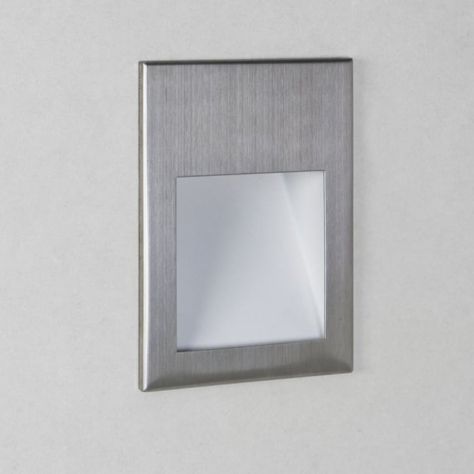 Astro Borgo 54 IP65 LED 2700K in Brushed Stainless Steel