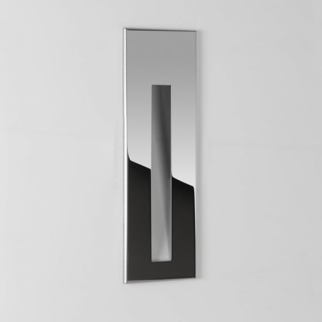 Astro Borgo 55 Polished Stainless Steel LED Wall Light
