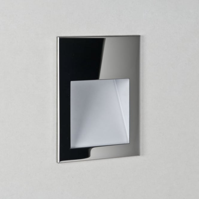 Astro Borgo 90 IP65 Polished Stainless Steel LED Recessed Wall Light