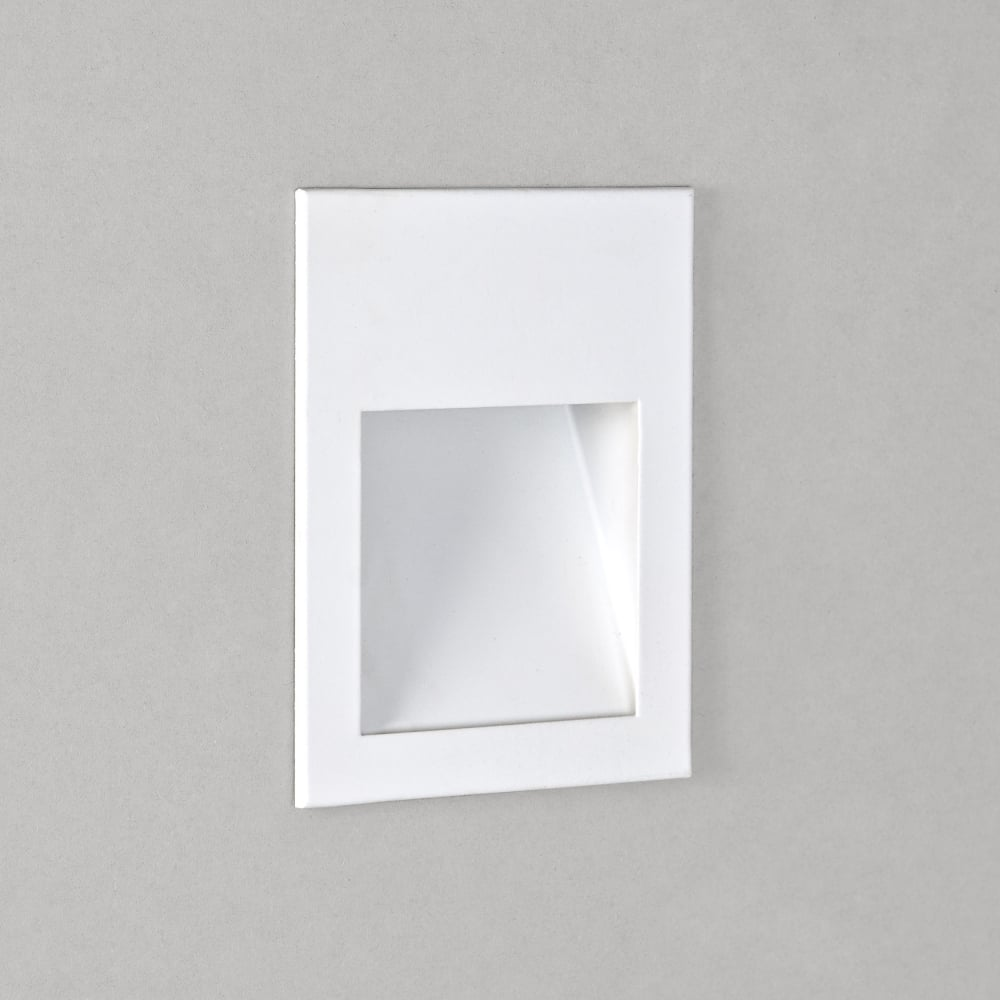Astro Lighting 7530 Borgo 90 LED 2700K White Recessed Wall Light
