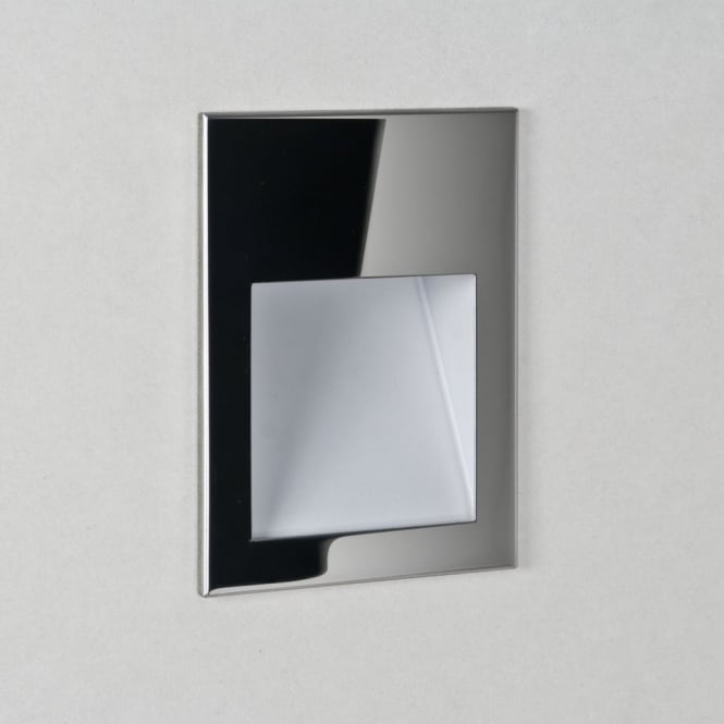 Astro Borgo 90 Polished Stainless Steel LED Wall Light