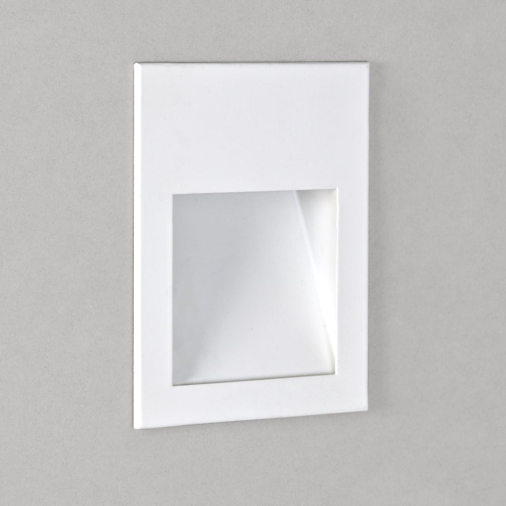 Astro lighting 0973 borgo 90 white led recessed wall or plinth light borgo 90 white led recessed wall or plinth light aloadofball Image collections