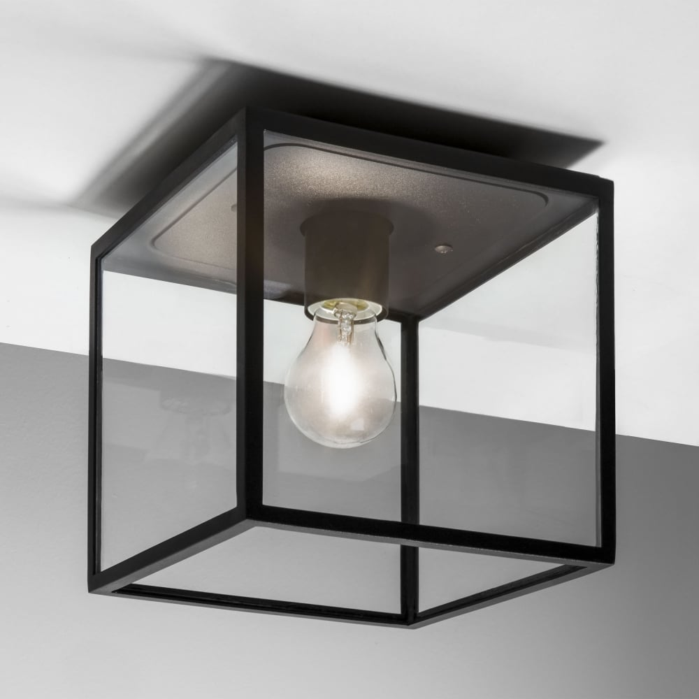 Astro lighting 7389 box black exterior ceiling light box black exterior ceiling light aloadofball Choice Image