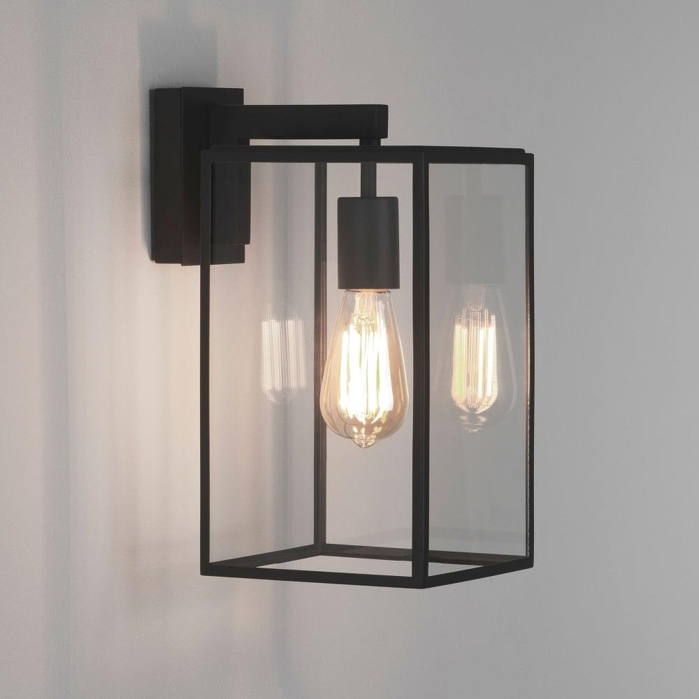 Astro Lighting 1354004 Box 350 Black Exterior Wall Light 8049
