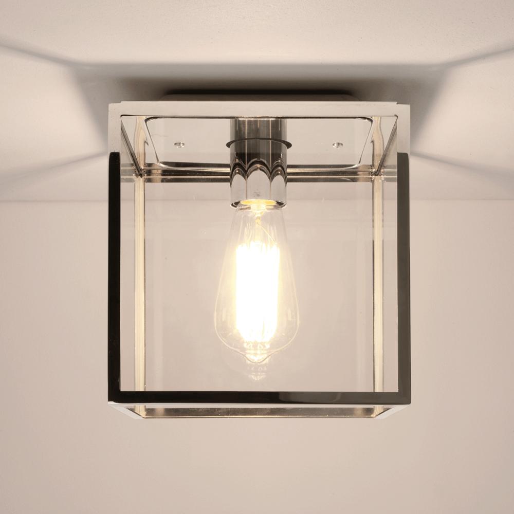 astro lighting 7846 box polished nickel ip23 exterior