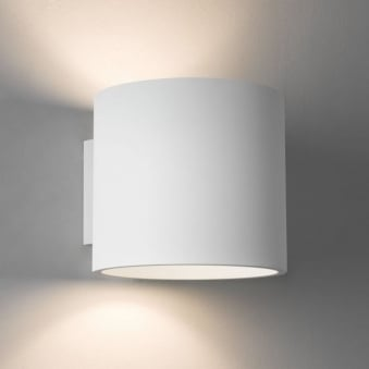 Brenta Wall Light in White Plaster